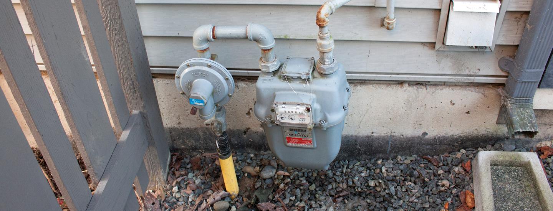 Natural gas meter safety